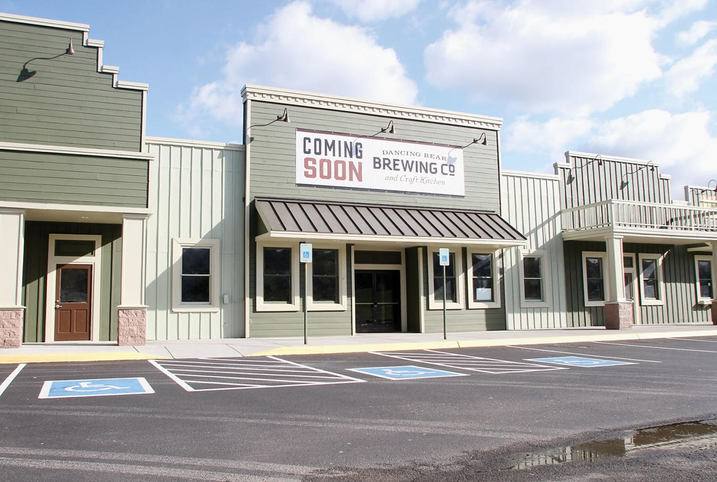 Coming soon Dancing Bear Brewing Co and Craft Kitchen