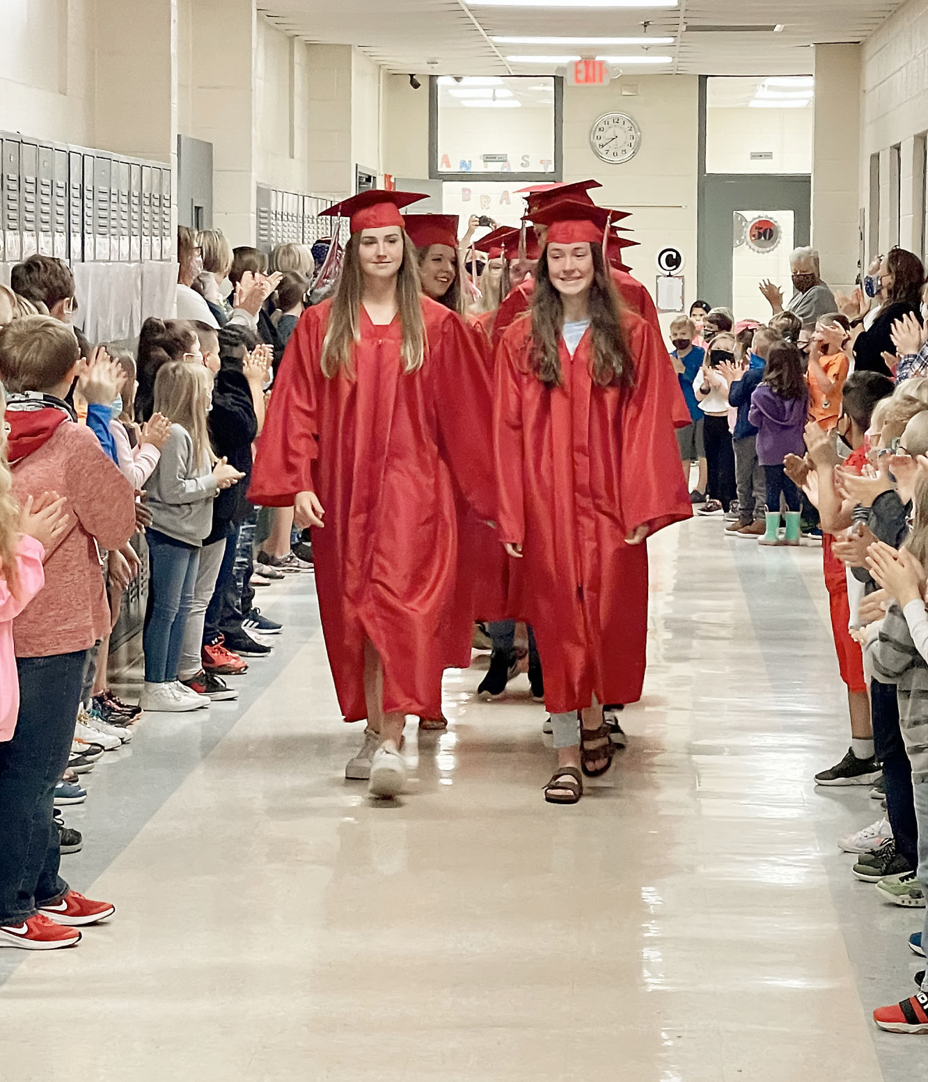 Walland Elementary applauds Heritage High School Class of 2021