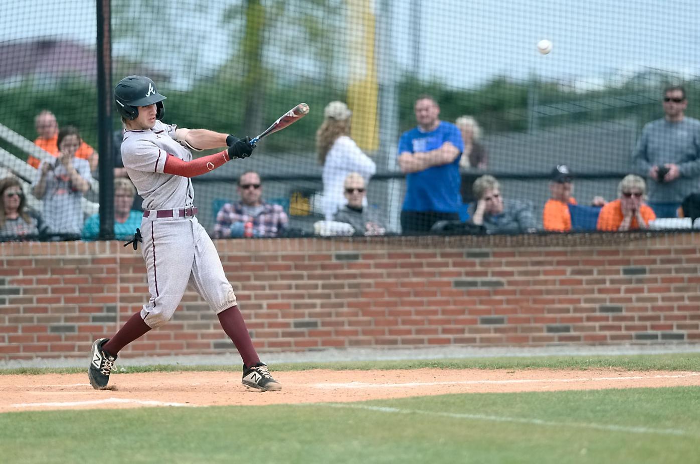 Baseball: Alcoa's Isaac Whitehead vs LC