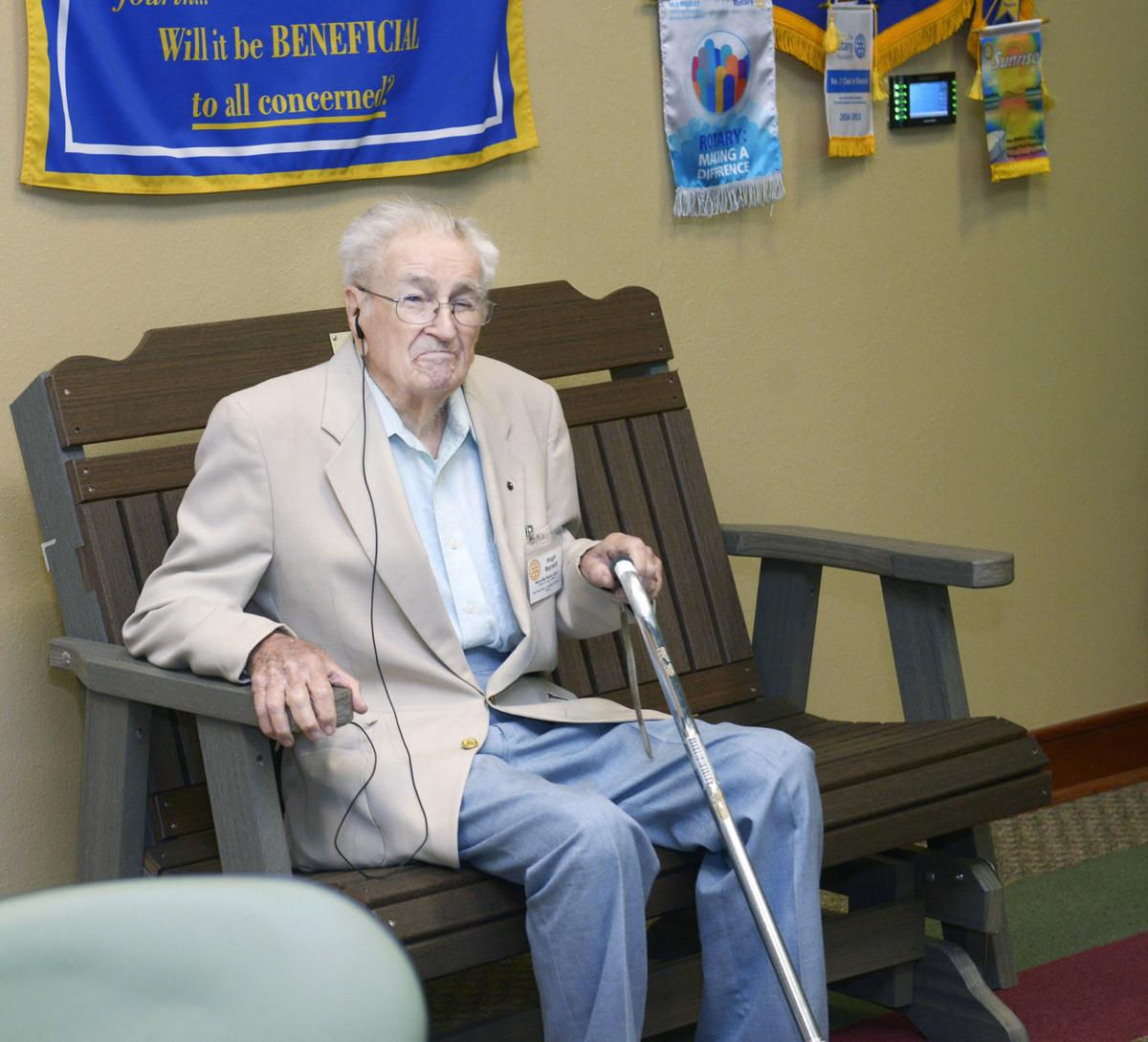 Hugh Barnett's 103rd birthday