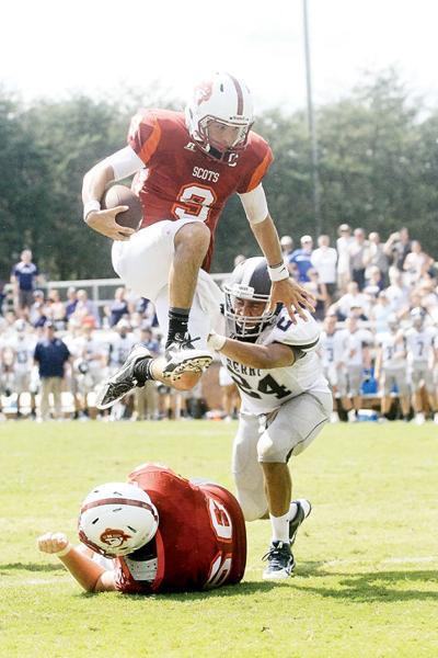 Maryville College's Evan Pittenger vs. Berry College