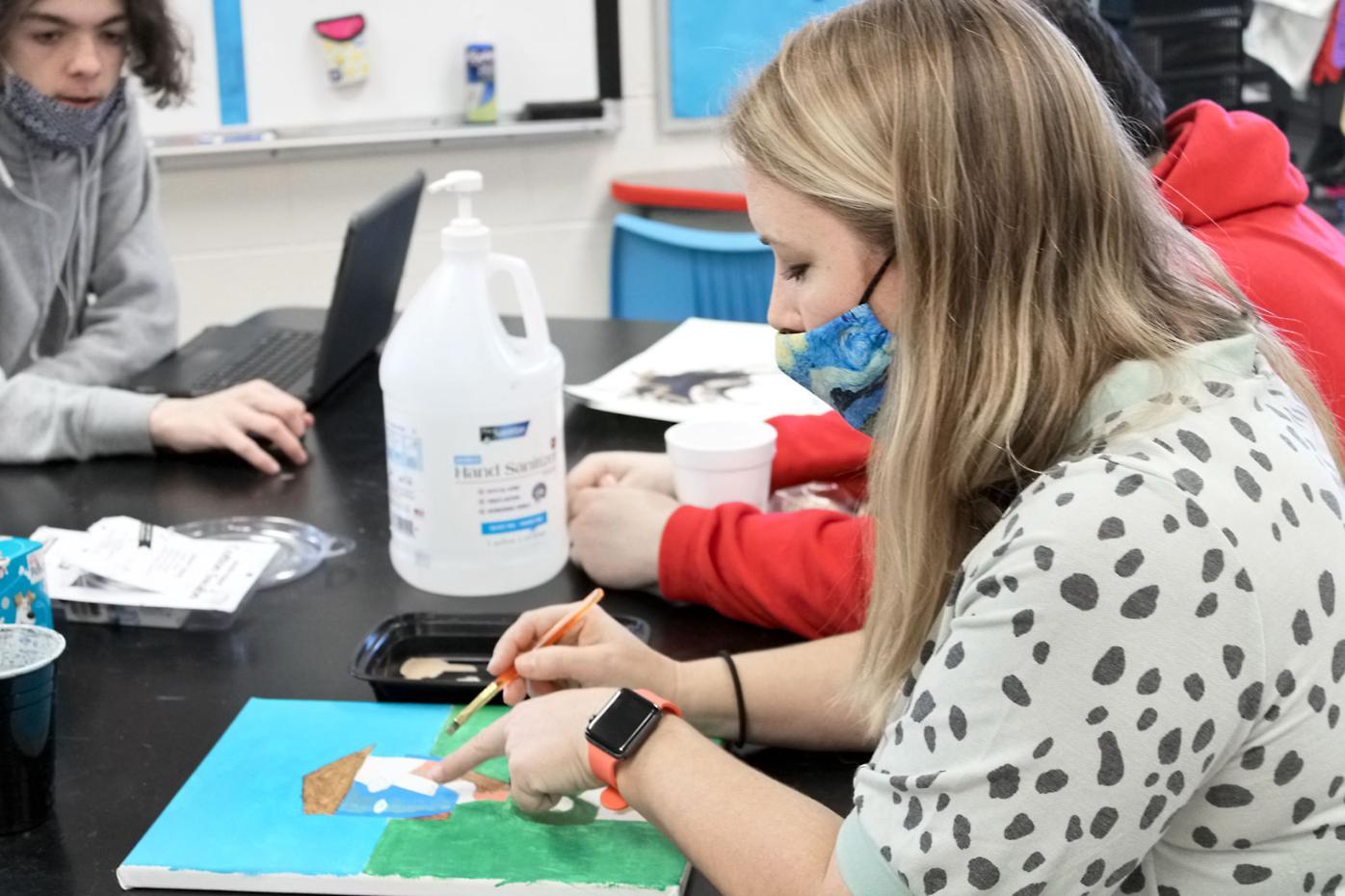 Raquel Roy teaches art at Maryville High School