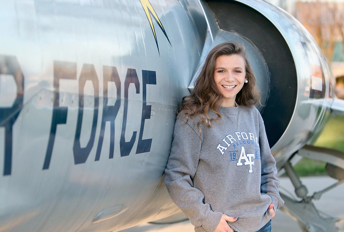 Heritage High School's Haley Hartley has been accepted to the U.S. Air Force Academy