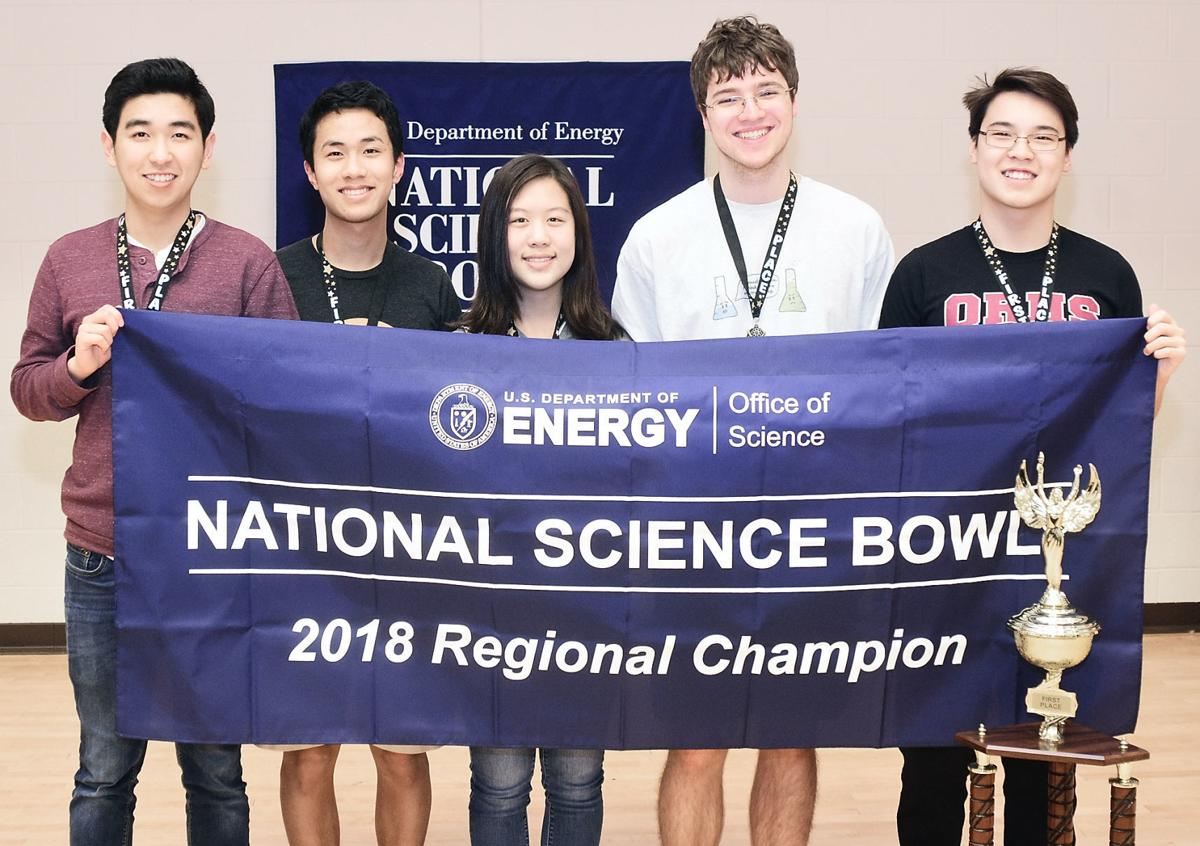 Tennessee Science Bowl winners