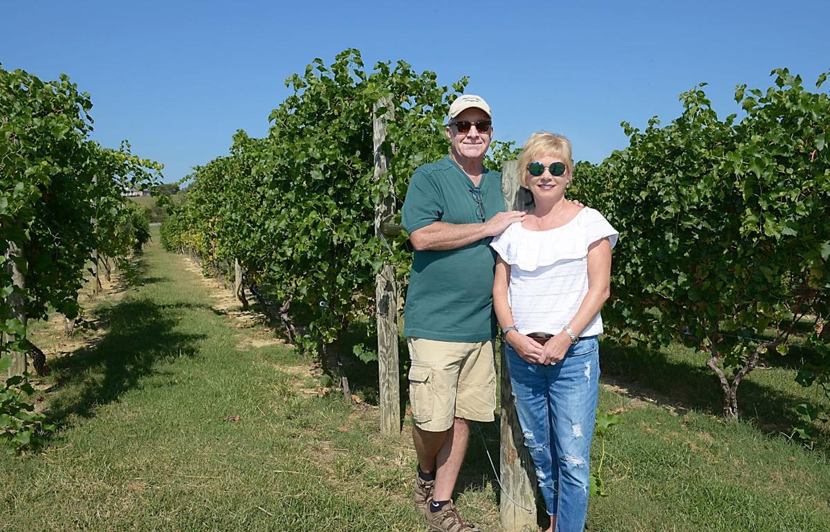 PLEASANT HILL VINEYARD: Charles Pullen and Karen Henry