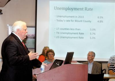 Mayor Ed Mitchell gives update on unemployment