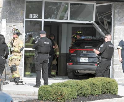 A car crashed into the American Family Care