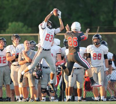 FOOTBALL: Maryville's Byron Brown vs Heritage.