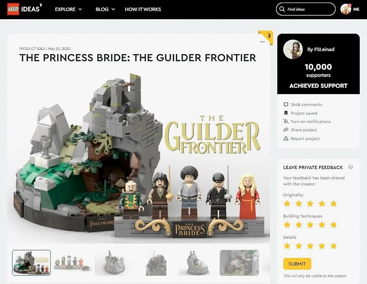Princess Bride Lego