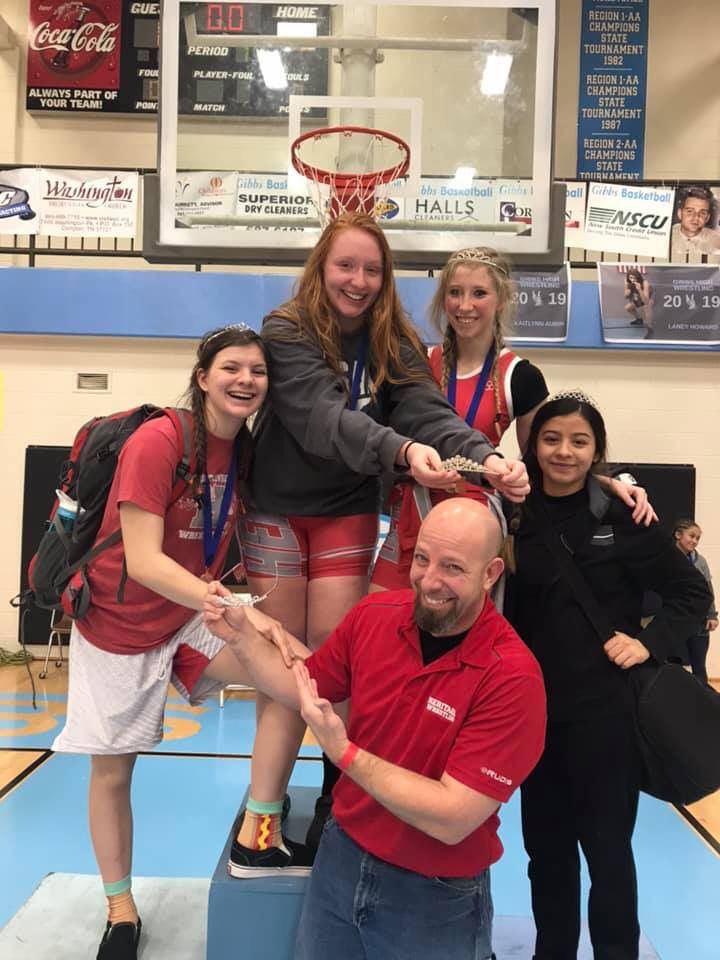 Girls Wrestling On The Rise In Tennessee Sports Thedailytimes Com