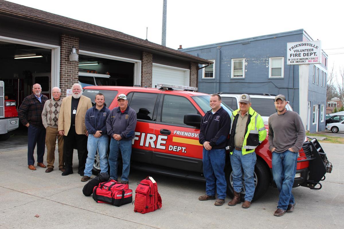Friendsville fire department gets updated medical response vehicle friendsville fire departments new medical response truck publicscrutiny Choice Image