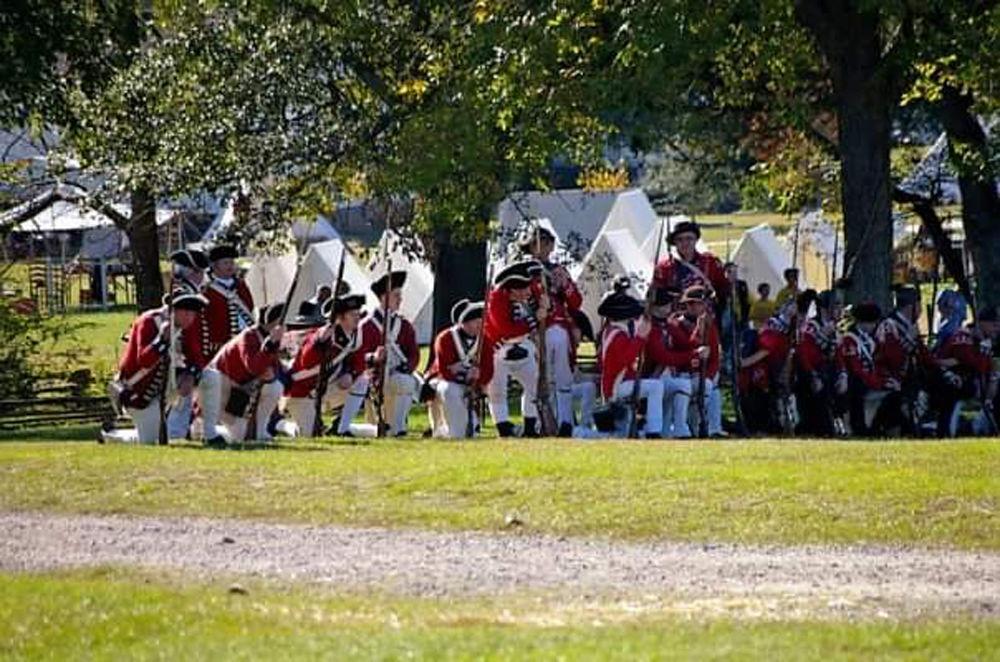 Revolutionary War re-enactment