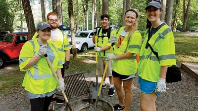 Campground cleanup