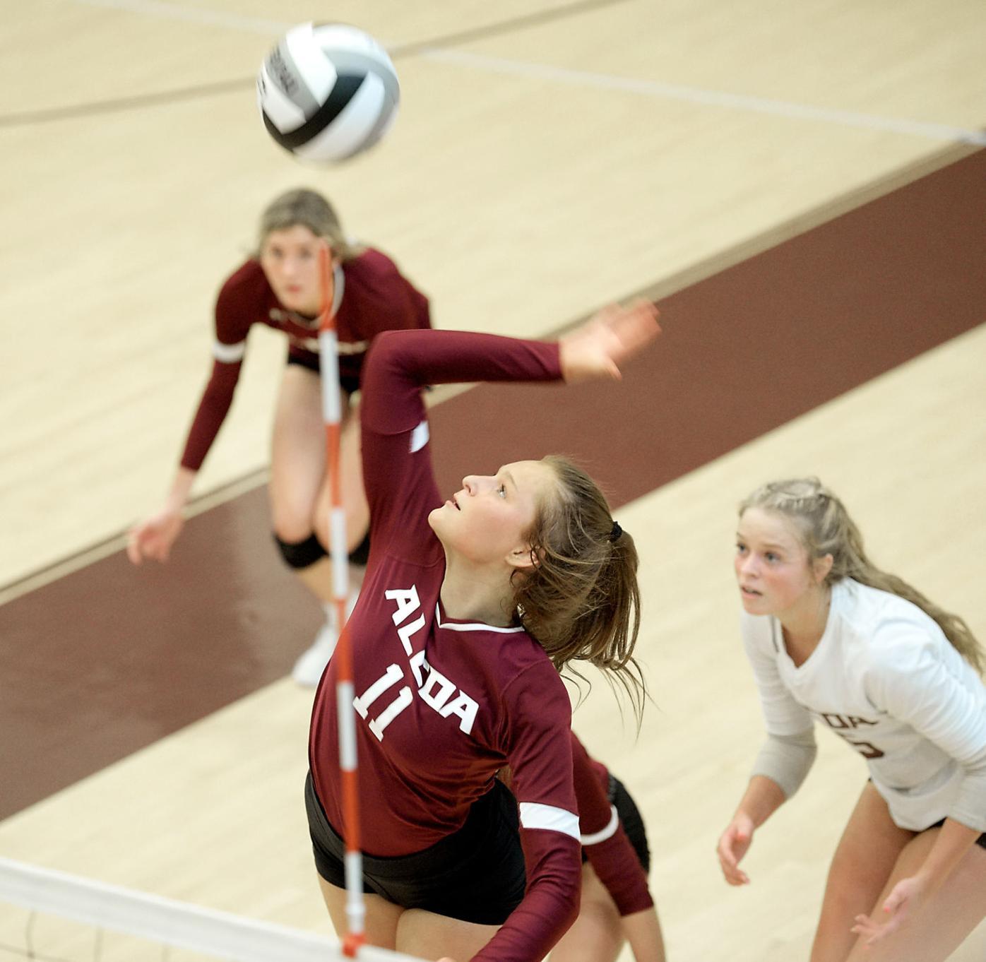 Volleyball alcoa vs Hixson