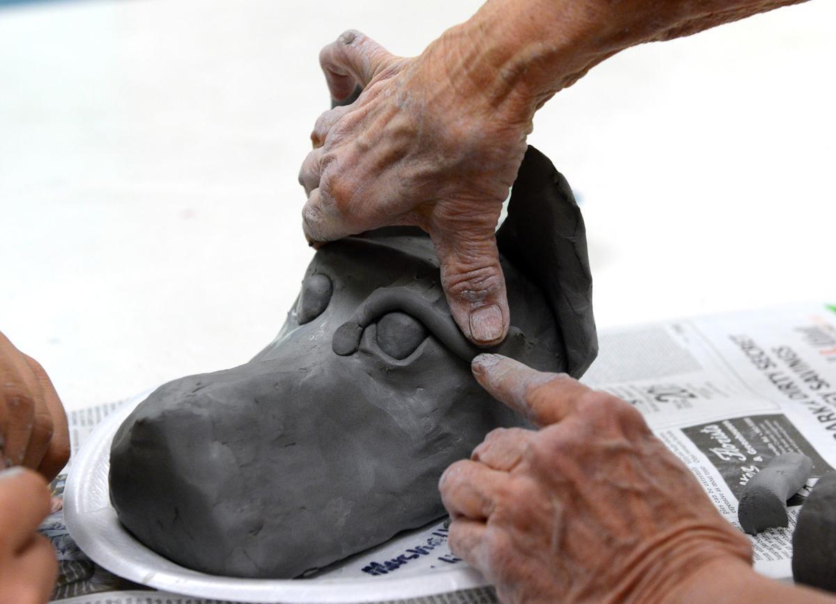 Guest sculptor Nan Jacobsohn