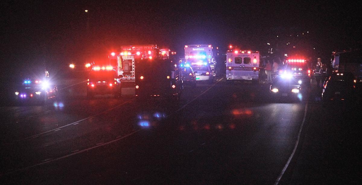 Two-vehicle crash on U S  411 kills three children, three adults