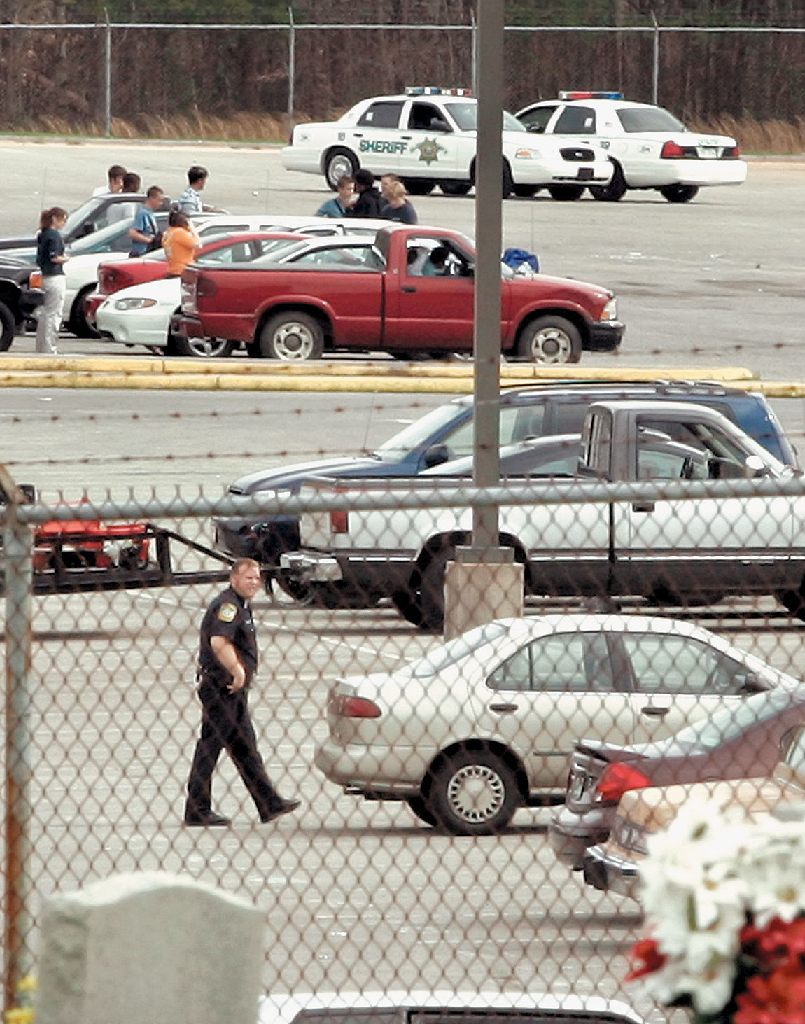 Lockdown at William Blount High on April 6, 2005