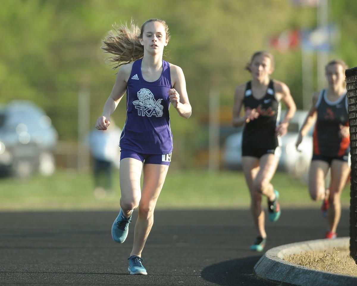 TRACK AND FIELD: TKA's Kayle Yates