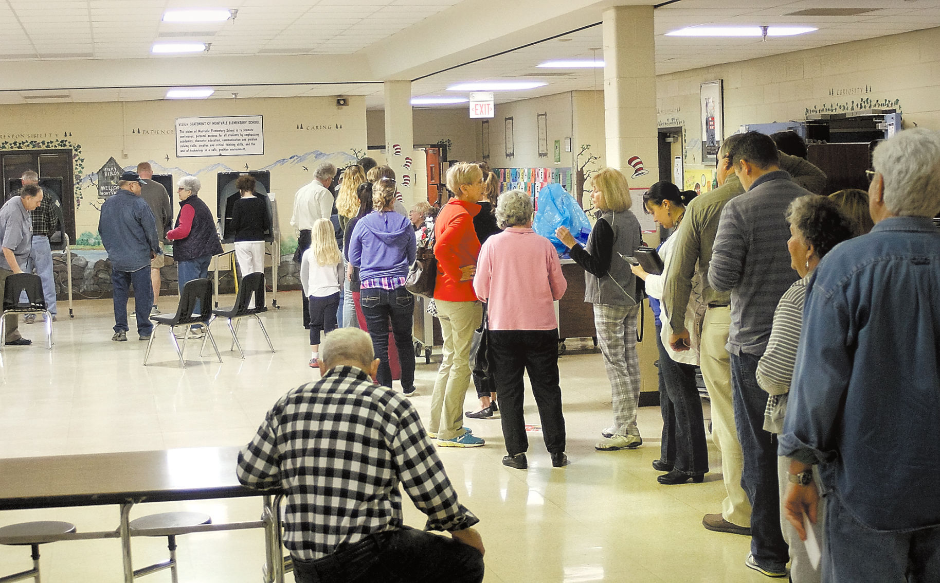 Long lines at Blount County polls; More than 700 have voted at ...
