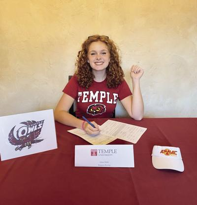 ROWING: Maryville's Grace Dulin signs with Temple University
