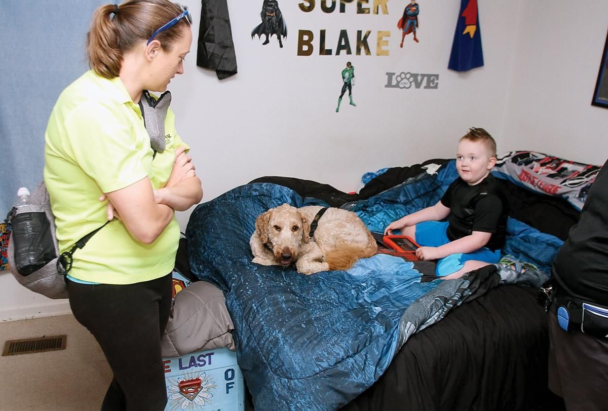 Blake Pass talks with Erin Gray of Service Dogs of Warren