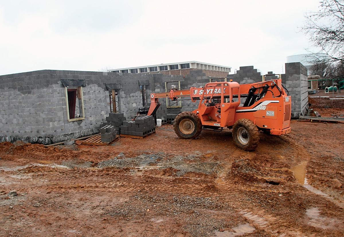 Construction underway on new kindergarten pod at John Sevier Elementary School