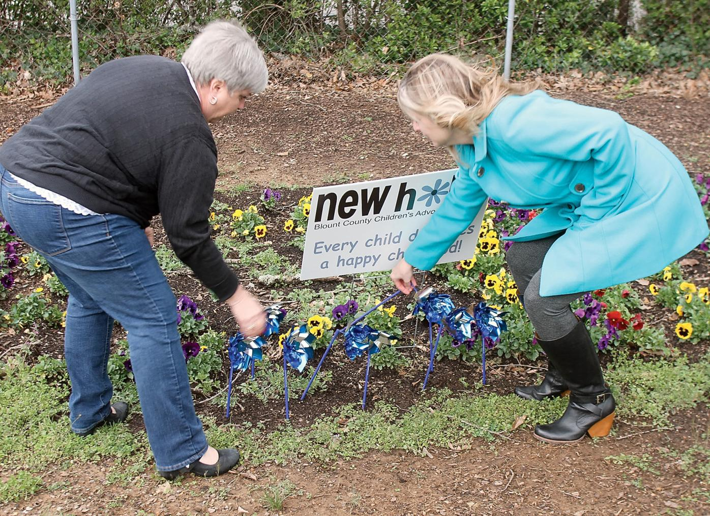 New Hope Blount County Children's Advocacy Center will hold it's annual pinwheel campaign to bring awareness to child abuse