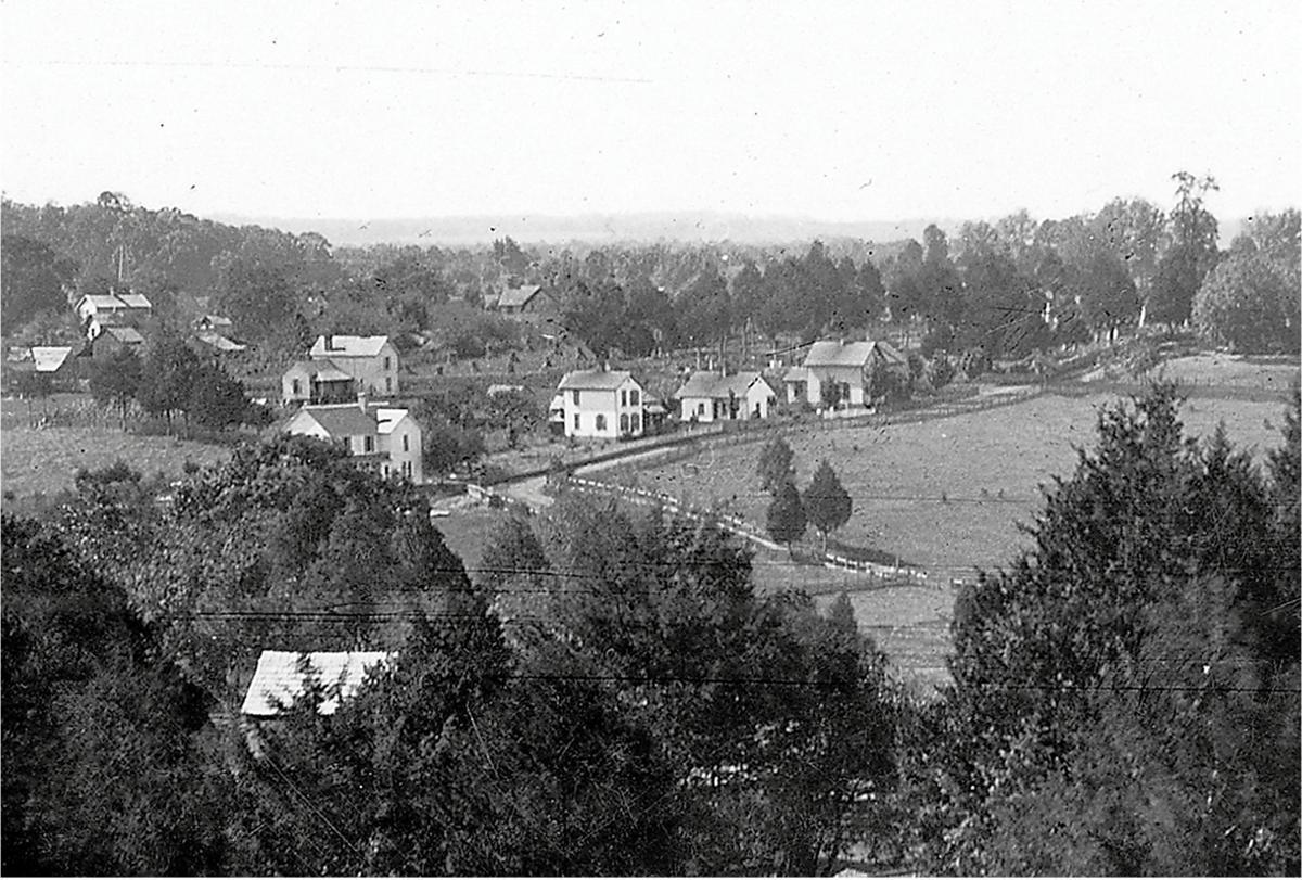 Historical Cates Street