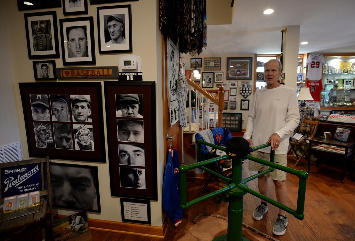 Campbells Interest In Old Baseball Showcased His Laurel Valley Basement