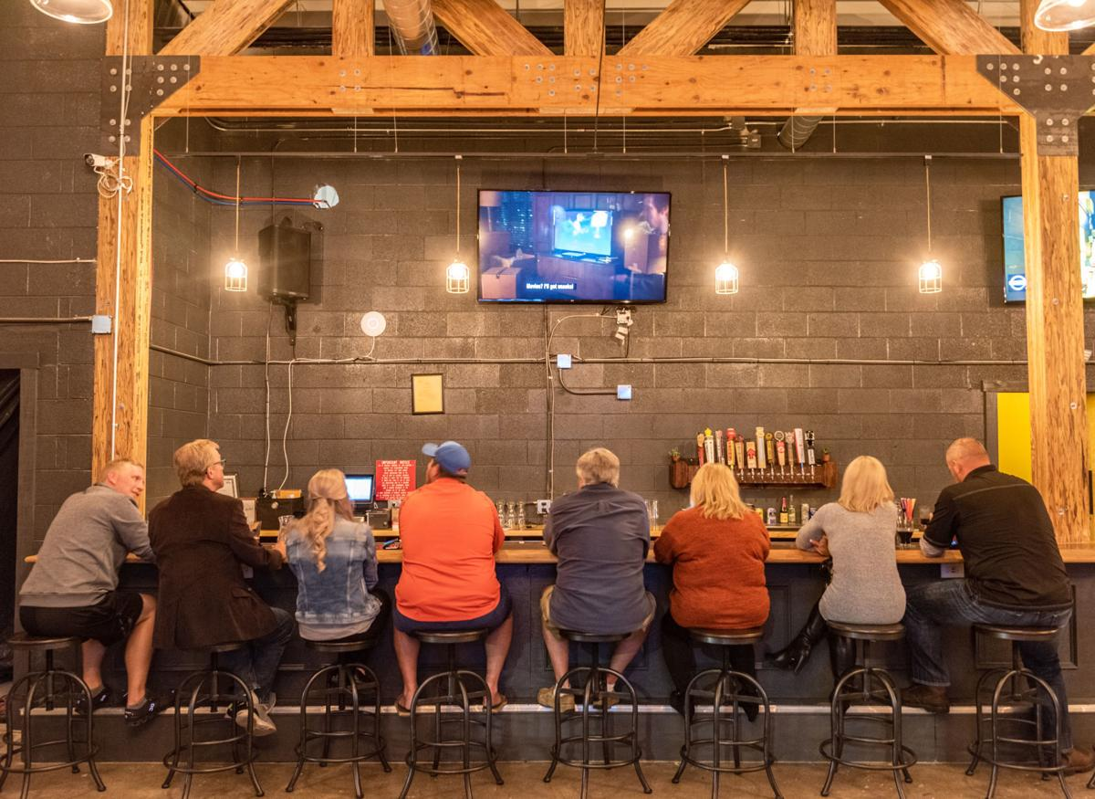 The family-friendly taproom