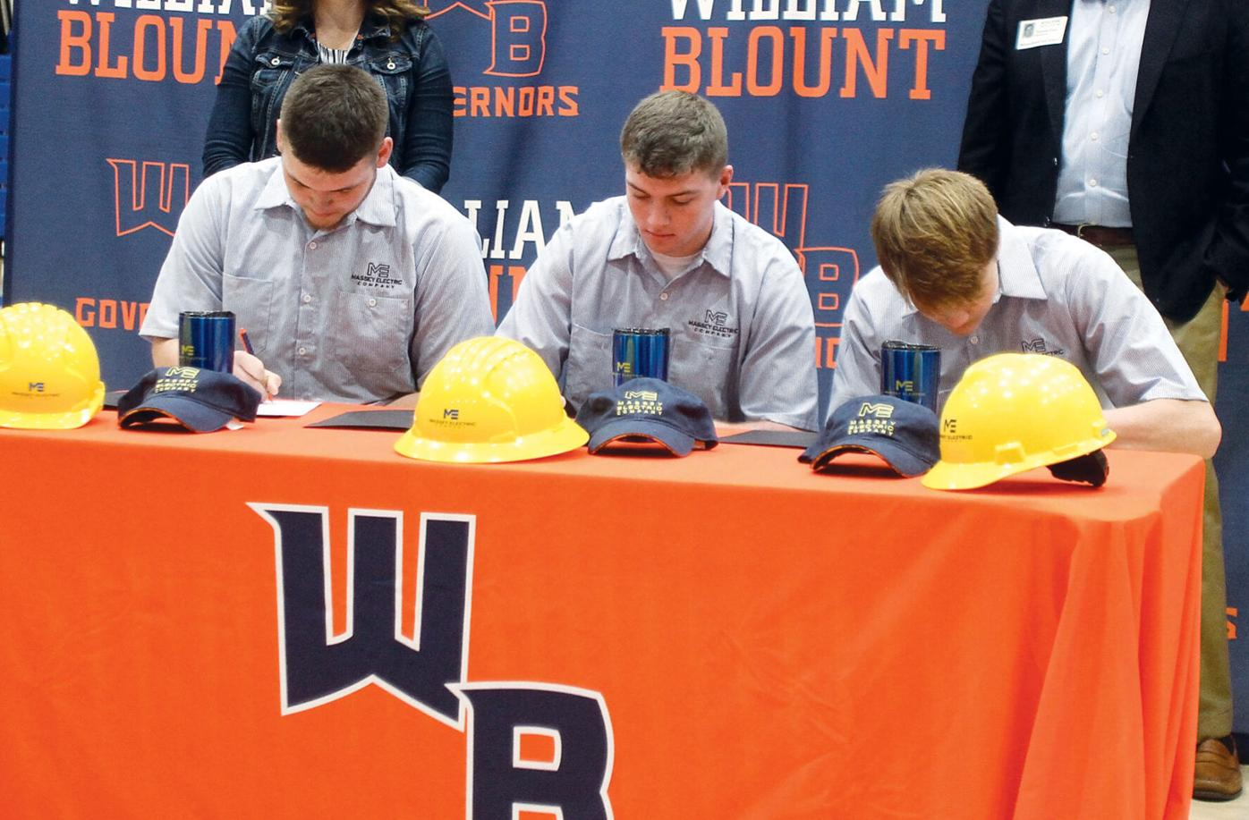 William Blount High School's Industry Signing Day