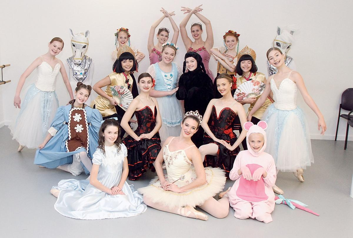 Cast members from the upcoming performance of The Nutcracker