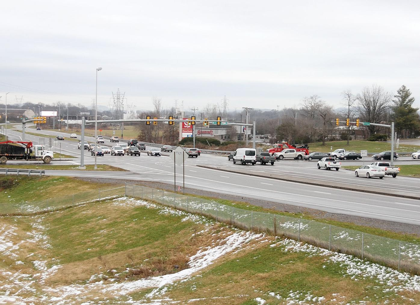 Hwy. 321 at 129 bypass