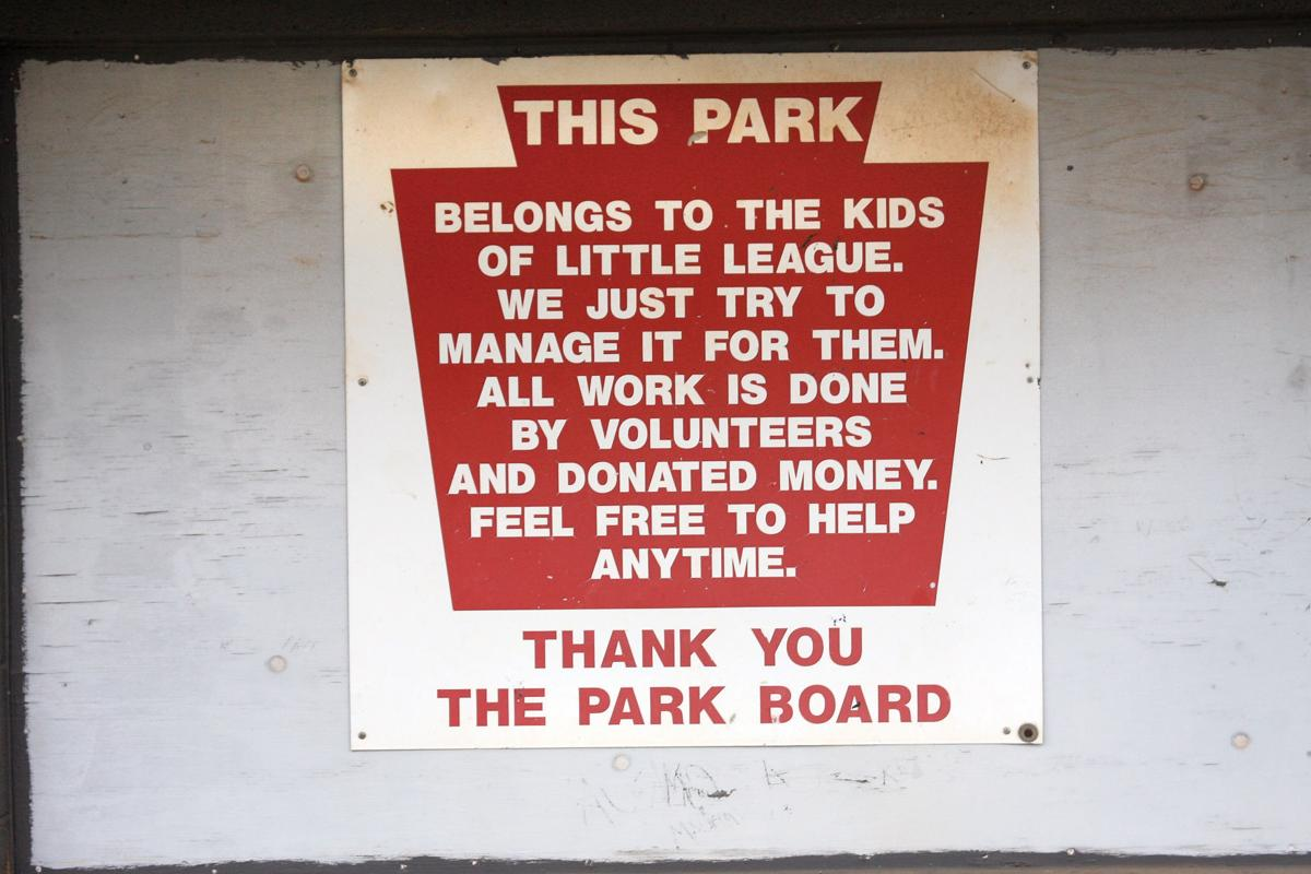 Sign at Everett Park