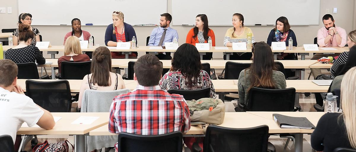 Maryville College 'Teacher of the Year' panel