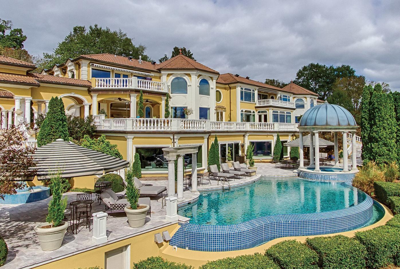 Villa Collina Riverfront View