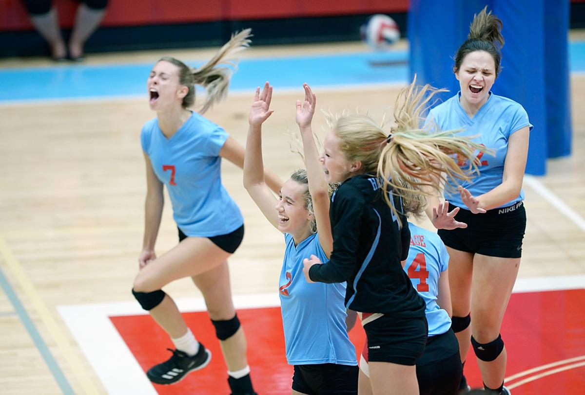 VOLLEYBALL: Heritage vs Morristown East