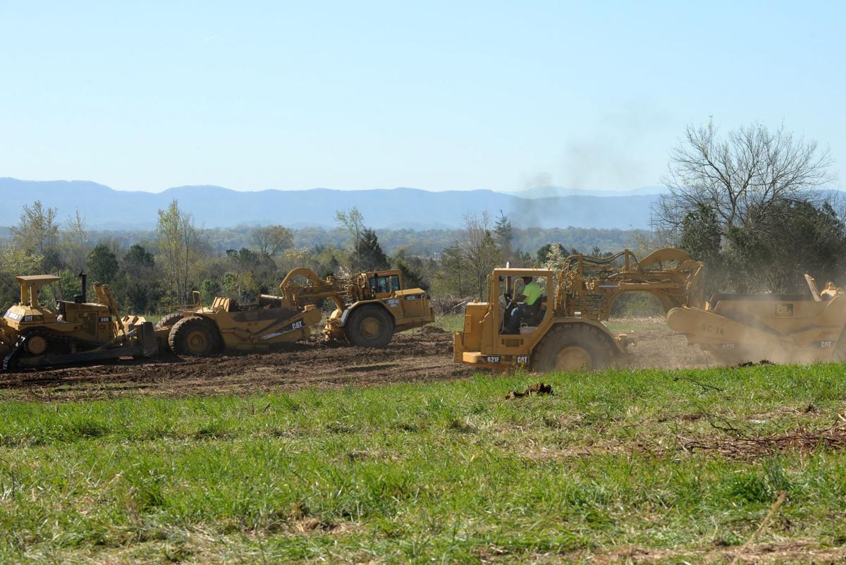 Grading, road work starts on former West Plant site