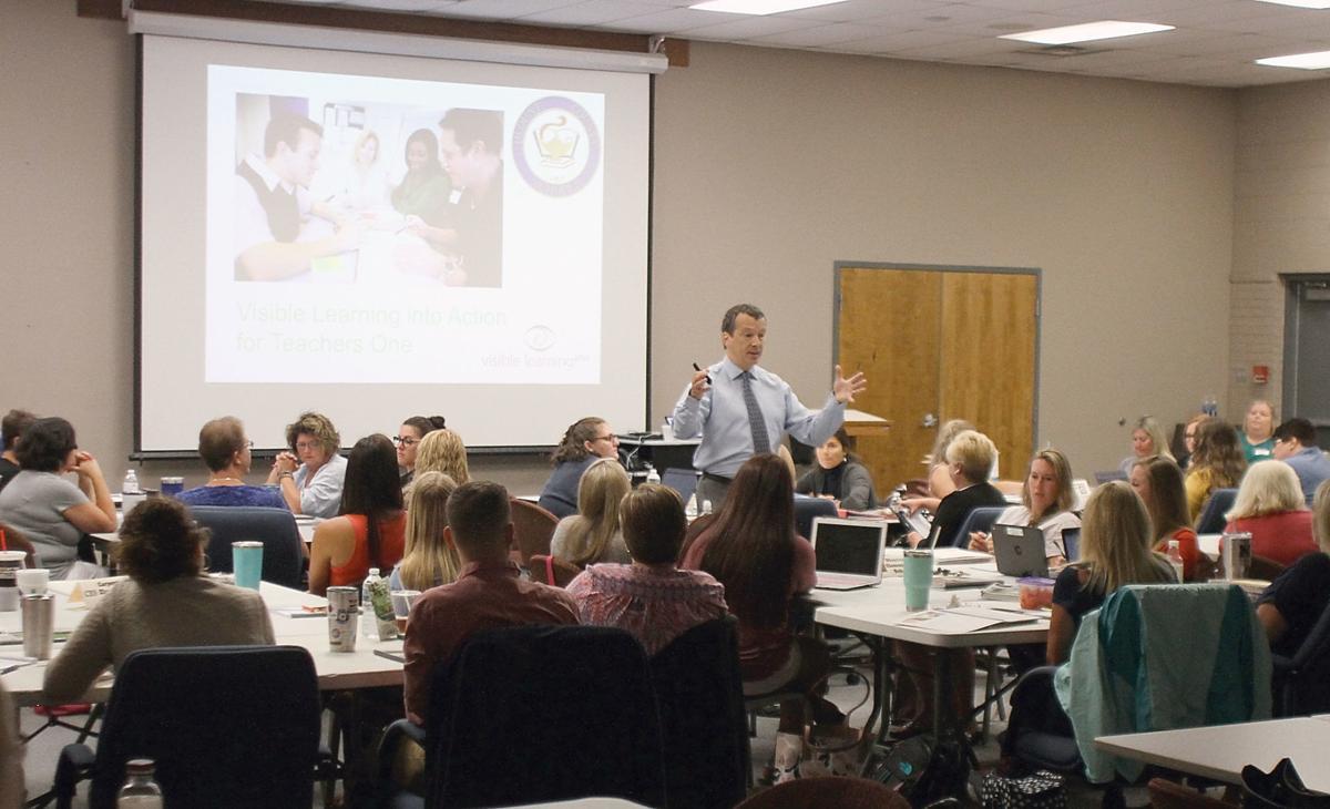 Educator, author Tom Hierck leads Blount County Schools training