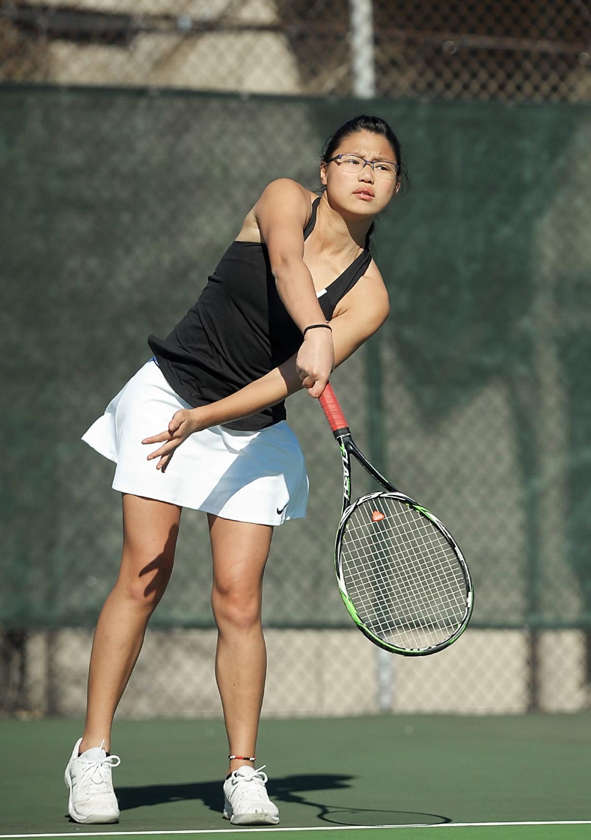 TENNIS: Maryville's Angelique Beswick vs Rhea County
