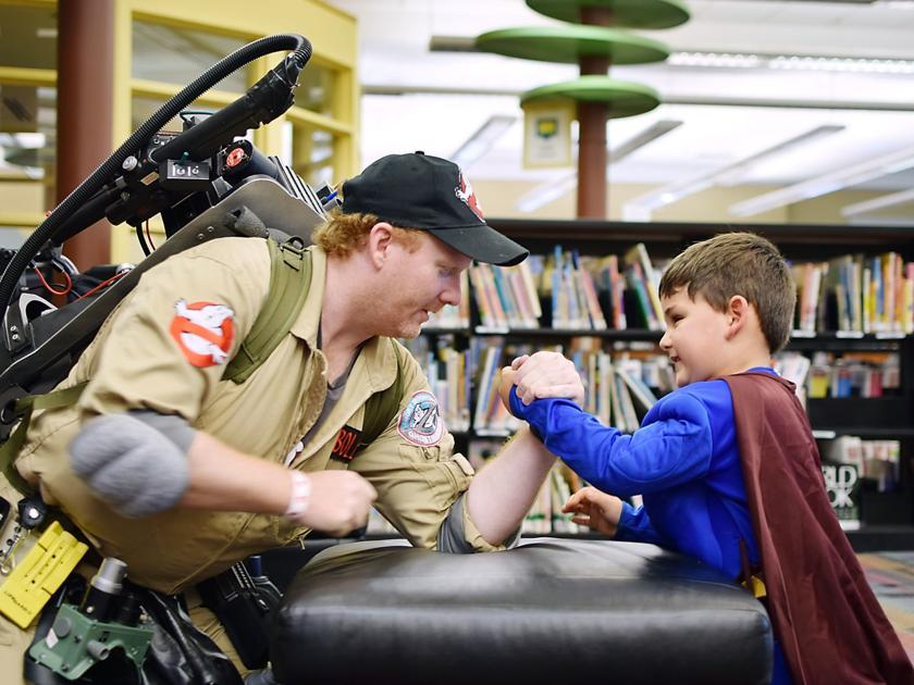 Pop culture on display at library Mini-Con | News