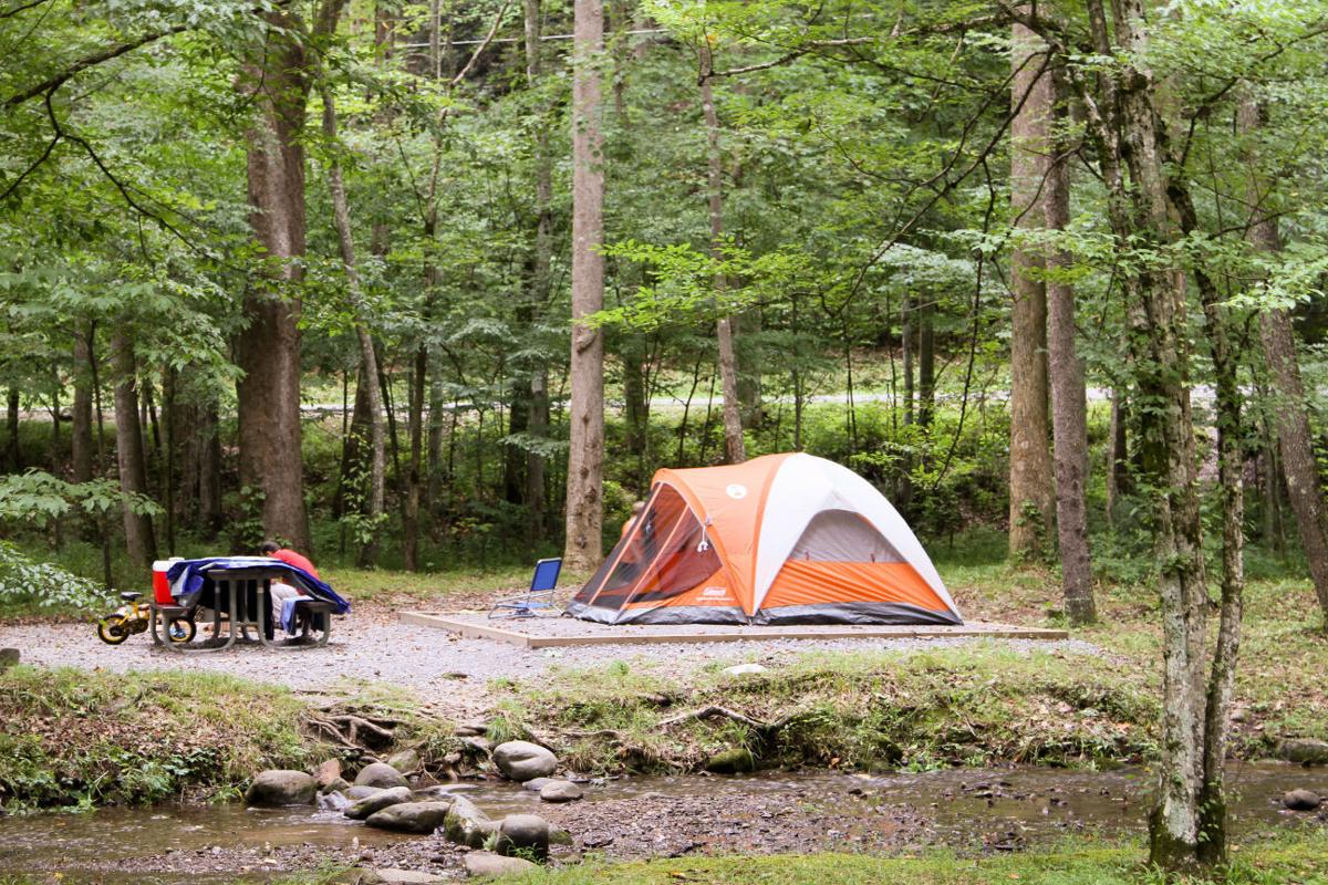 Great smoky mountains national park announces spring for Camp sites with cabins