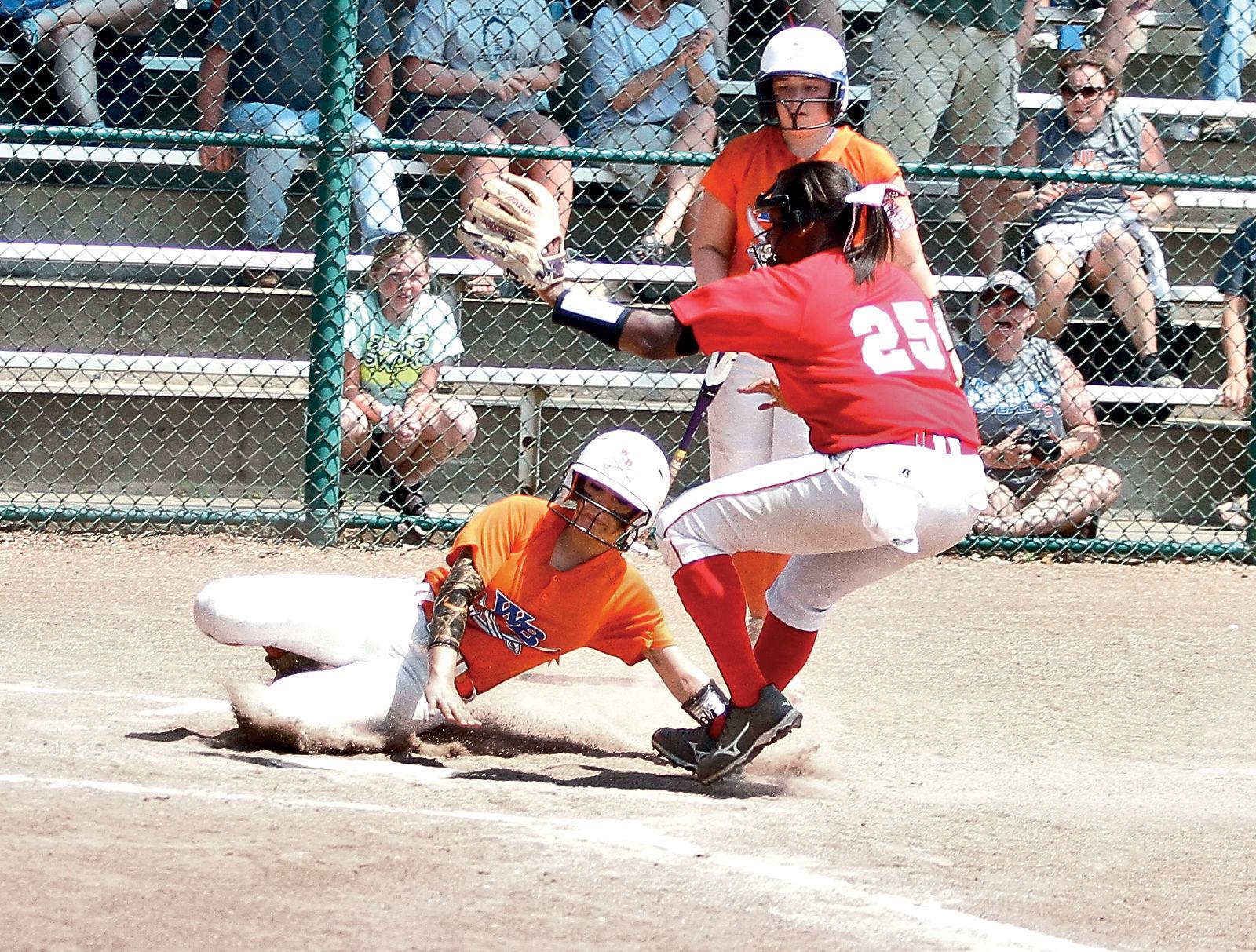WB softball shakes sloppy play stays alive