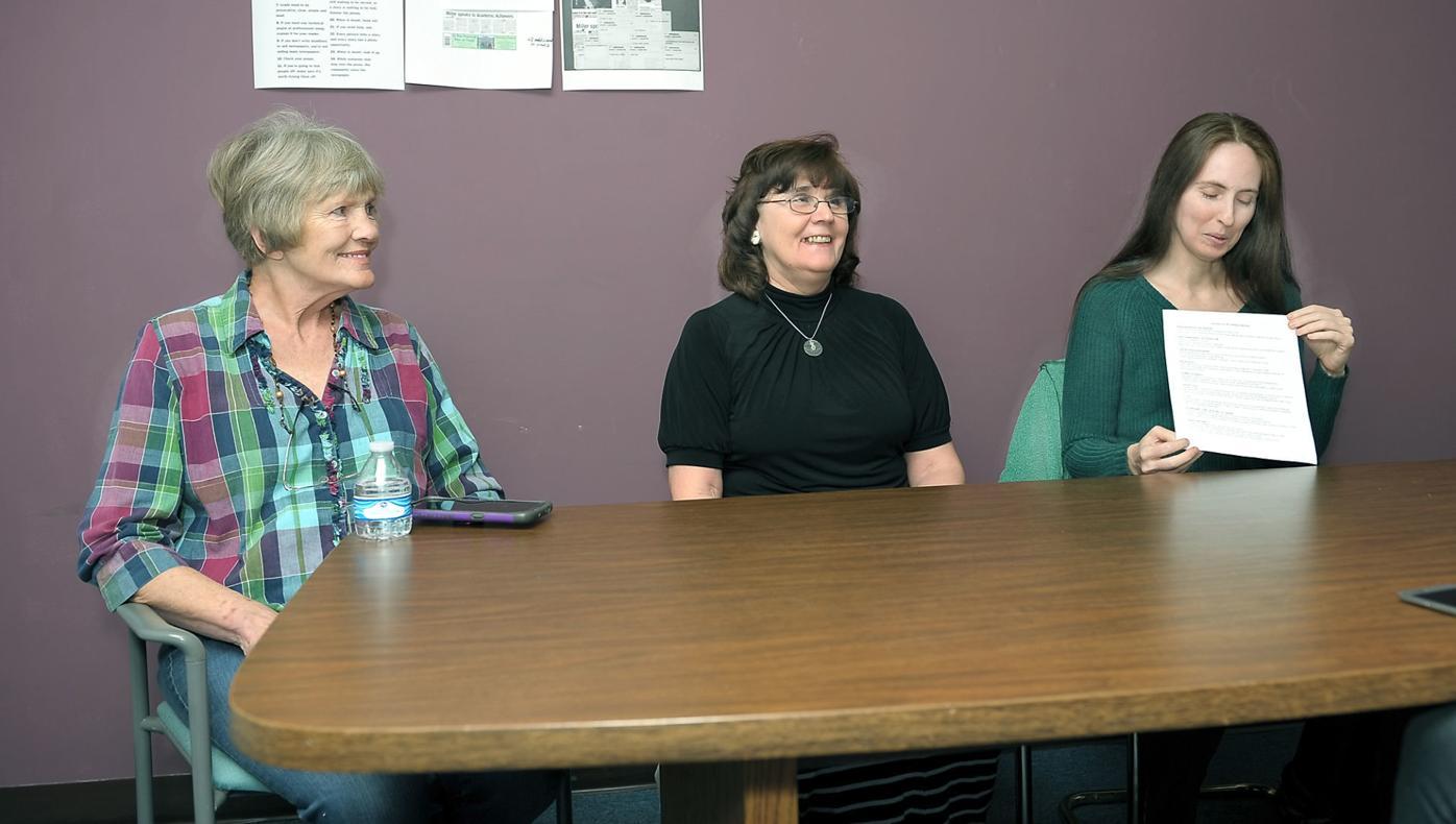 COMMISSIONERS: Jamie Daly, Karen Miller and Tona Monroe