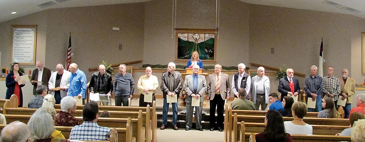 Old Piney Baptist Church Veterans