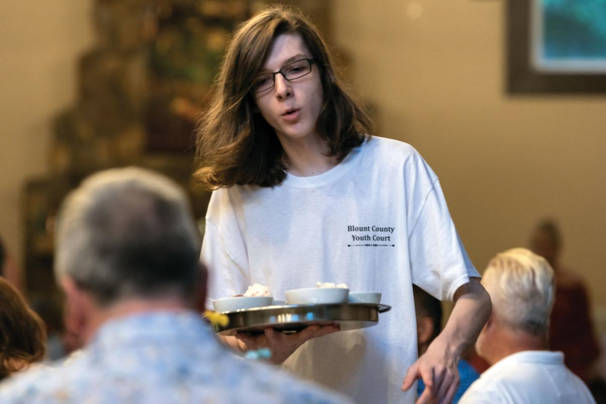 Youth Court volunteer Dakota Gutridge