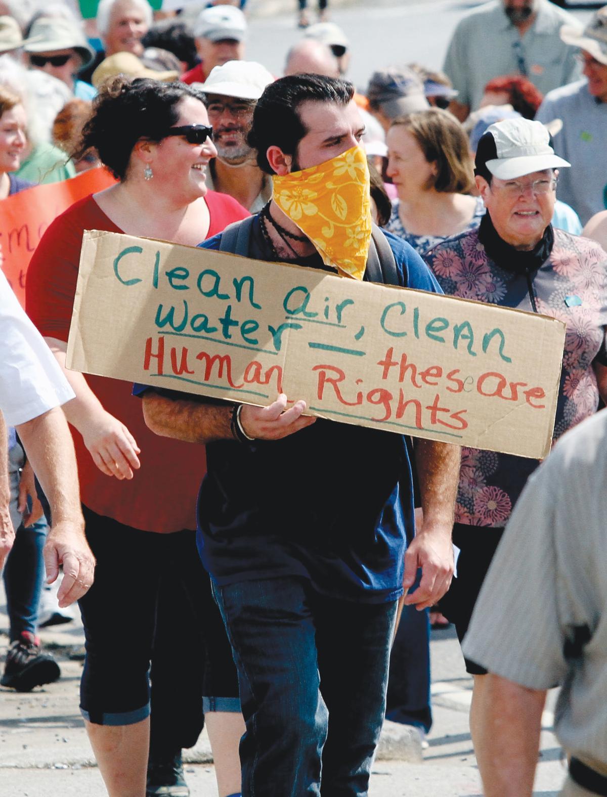 Climate crisis march