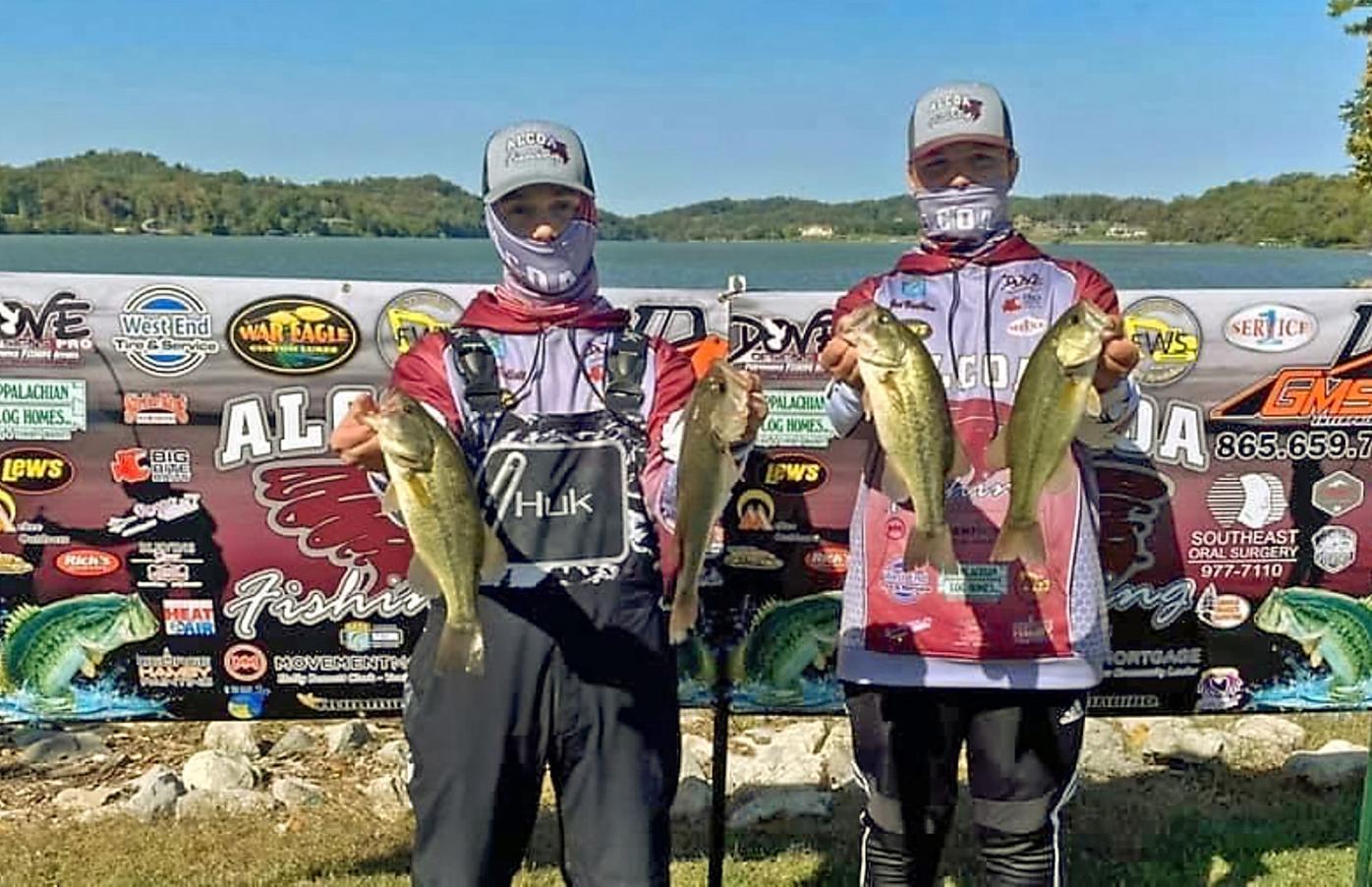 Alcoa Fishing Team members Pierce Tollett and Joe Vaulton