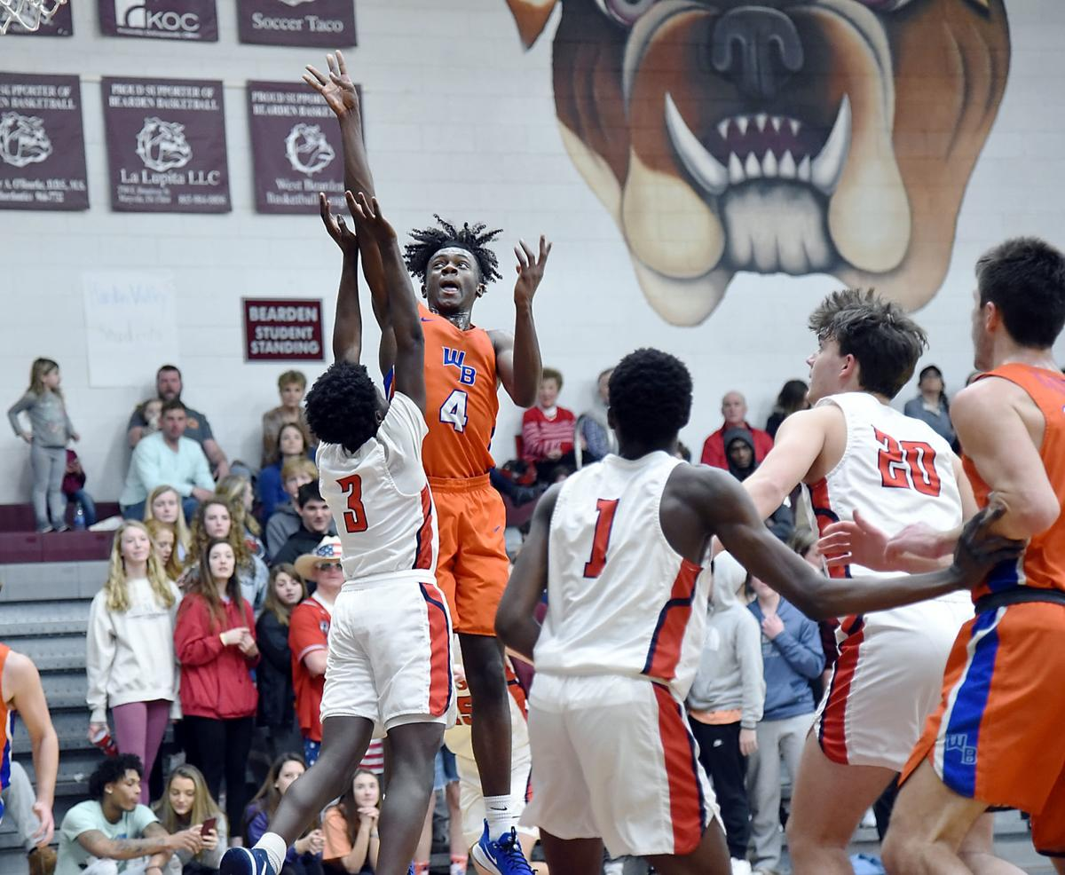 BBALL: William Blount's Cameron George vs Knoxville West
