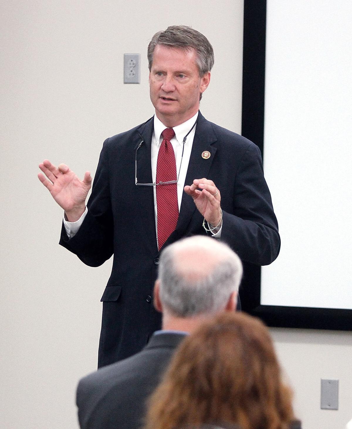 Tim Burchett speaks at the Blount Partnership Legislative Update